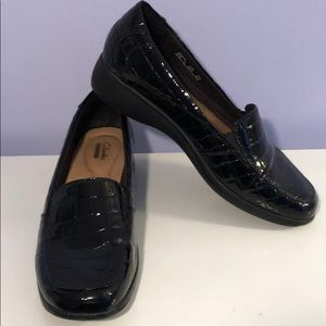 Clarks loafers like new